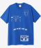 Reebok x Pleasures 'I want the one i can't have' Tee Blue