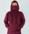 VegNonVeg Essential Snood Hoodie 'WINE'