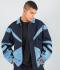 Vintage Bomber Jacket 'Indigo Blue'