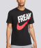AS GA M NK DRY TEE FREAK 'Black/White'