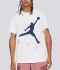 M J JUMPMAN AIR HBR SS CREW 'WHITE/BLVOID'