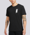AS M NK DRY EXTRA BOLD SS TEE 'BLACK/WHITE'