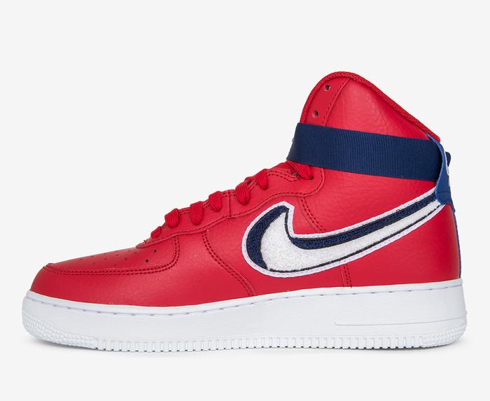 emocionante debajo visitante  Nike - NIKE - AIR FORCE 1 HIGH '07 LV8 'GYM RED' - VegNonVeg