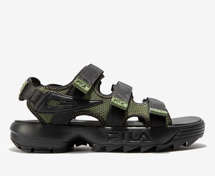 fila disruptor logo sandals