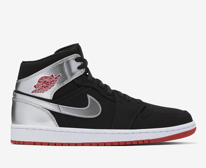 Jordan - Air Jordan 1 Mid 'BLACK/GYM