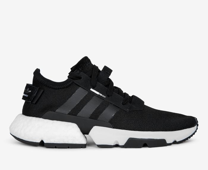 Adidas Originals Men Black White Pod S3