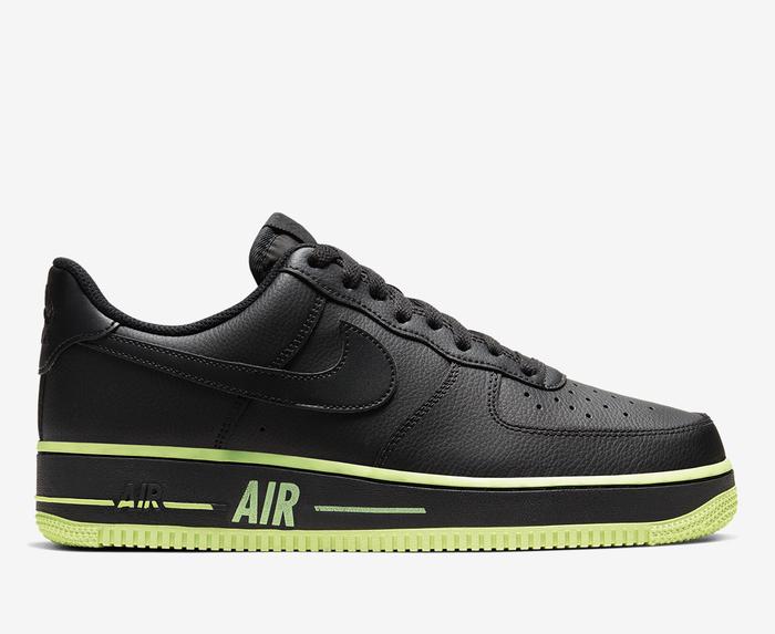 Nike - AIR FORCE 1 '07 3 'BLACK/BLACK