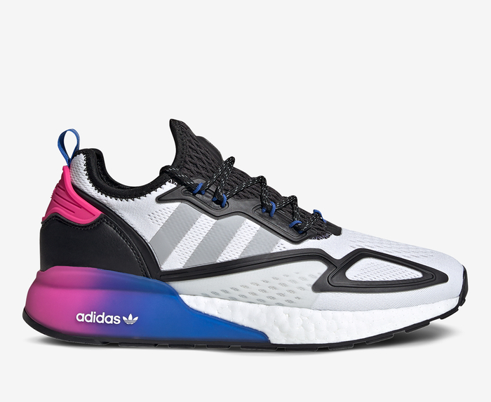 Tomar represalias toxicidad Completamente seco  Adidas Originals - ZX 2K BOOST 'ftwr White' - VegNonVeg