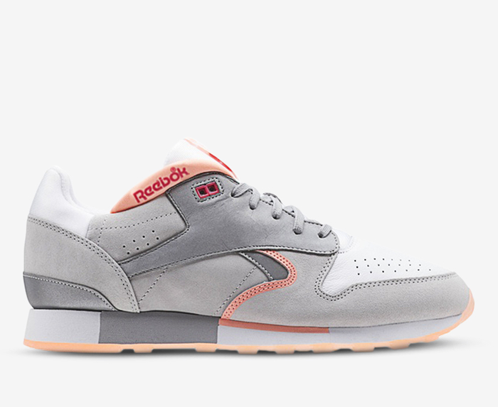 CL LEATHER URGE 'WHITE/GREY/PINK/SILVER
