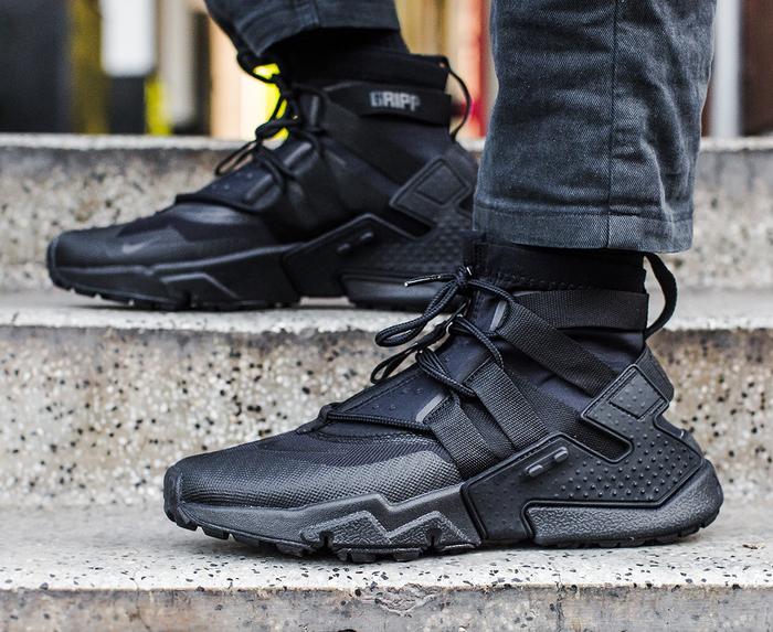 Nike - AIR HUARACHE GRIPP 'BLACK/BLACK