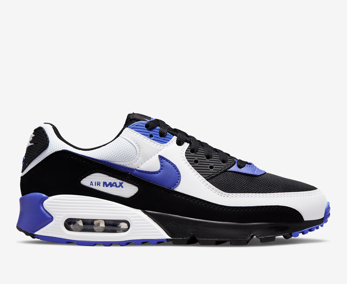 Nike - AIR MAX 90 'BLACK/PERSIAN VIOLET-WHITE' - Thesommelierchef